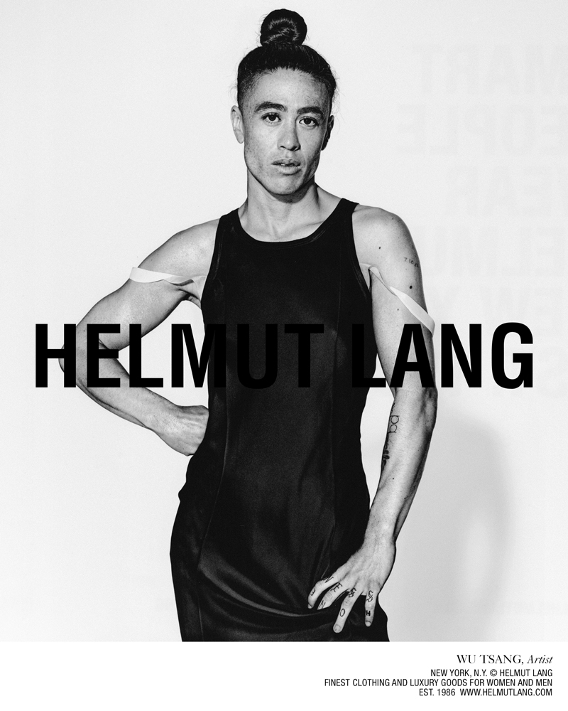 Le performer, réalisateur et artiste queer Wu Tsang photographié par by Richard Burbridge.