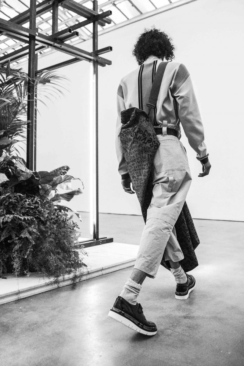 OAMC fashion show spring-summer 2017 seen by Mehdi Mendas