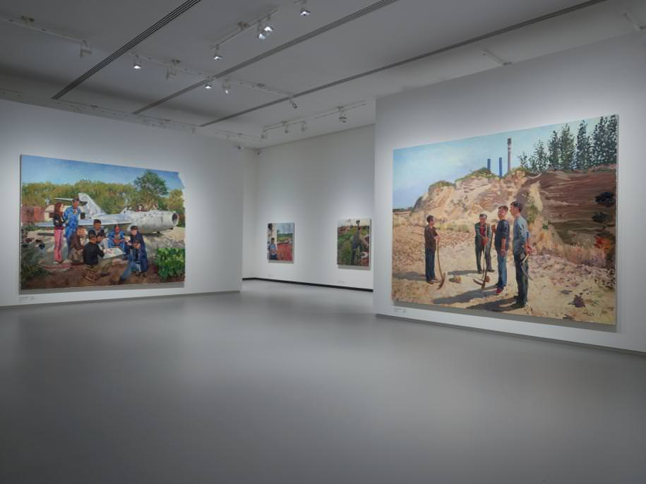 Œuvres de Liu Xiaodong (2010).