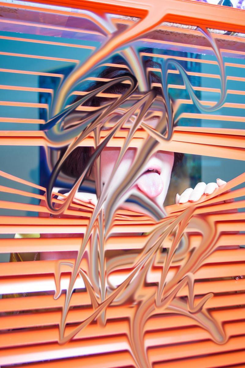 """""""Orange Blind"""", #smudge, Kenta Cobayashi, 2016."""