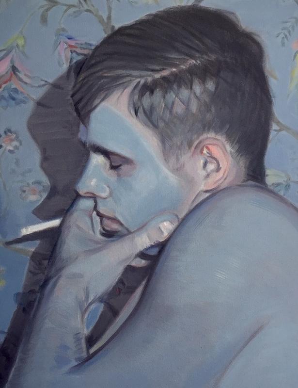 "Kris Knight, ""Self Care Sunday""(2019)© Kris Knight - Courtesy Galerie Alain Gutharc"