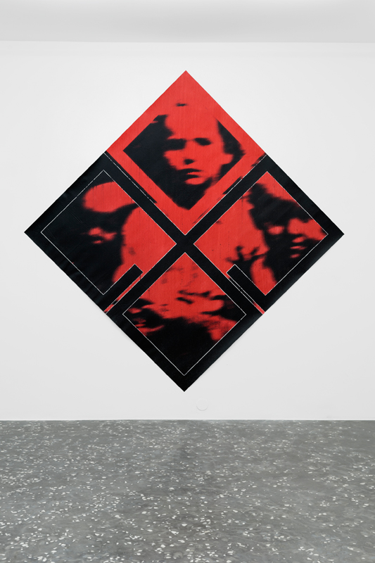 "Darja Bajagić, ""SummerDažbog, Sun[ce] (The most powerful demon in hell)"" (2019). Courtesy: New Galerie, Paris.Photo: Aurélien Mole"