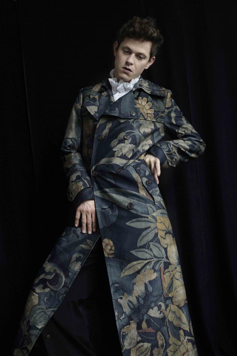 Coat DRIES VAN NOTEN, shirt VIVIENNE WESTWOOD, pant Y/PROJECT.