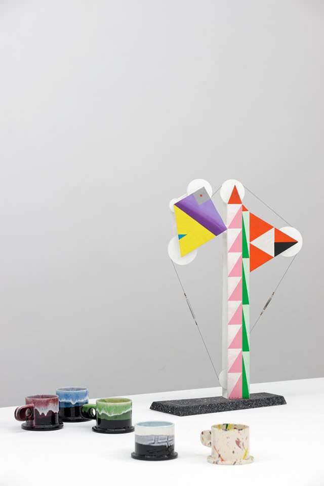 La fantaisie libre de Peter Shire à la New Galerie