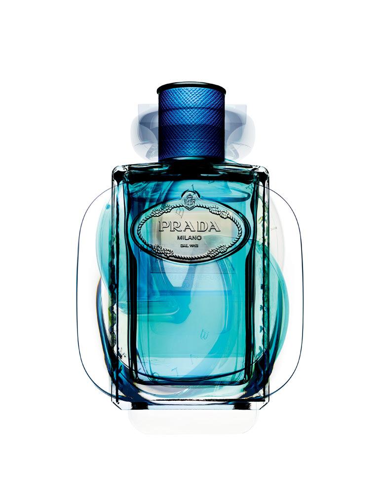 """Infusion d'Amande"", eau de parfum, PRADA."
