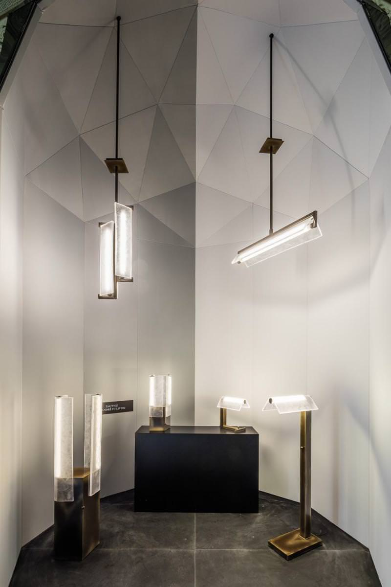 Fantastic and monumental: the Lasvit light presentation at the Milan Furniture Fair