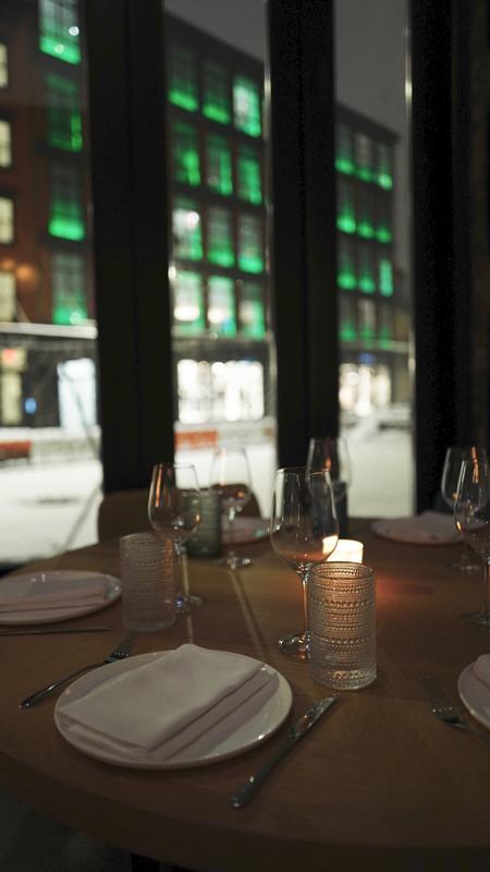"""Le restaurant """"Encore"""" à New York."""
