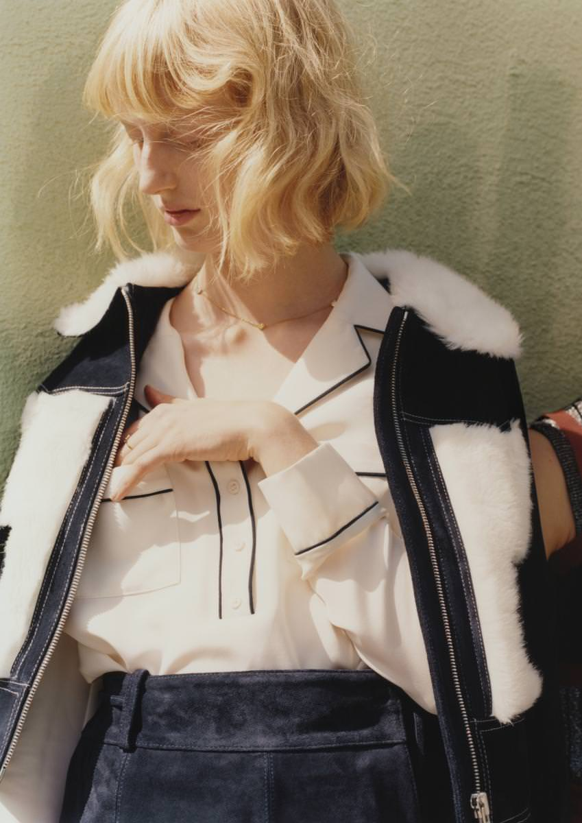Rodarte for & OtherStories promotional campaign byHarley Weir.