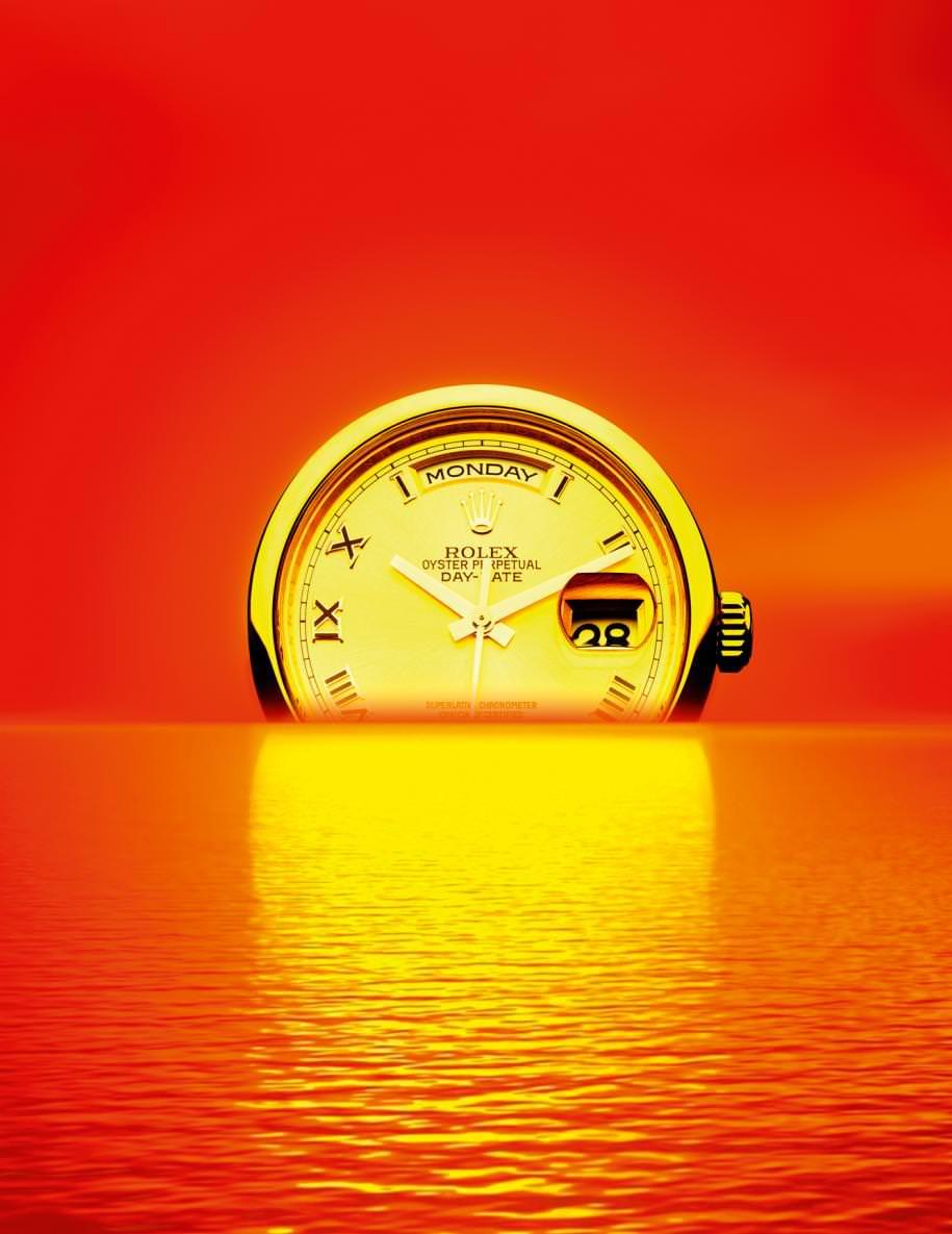 """""""Oyster Perpetual DayDate"""" watch, ROLEX."""