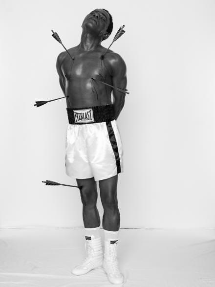 Autoportrait tiré de la série AfricanSpirits de SamuelFosso.