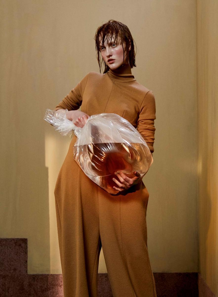 Combinaison-pantalon en laine, STELLA MCCARTNEY.