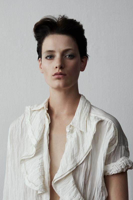 Silk Shirt, GIORGIO ARMANI.
