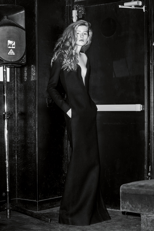 Neckline Dress, SAINT LAURENT PAR ANTHONY VACCARELLO.