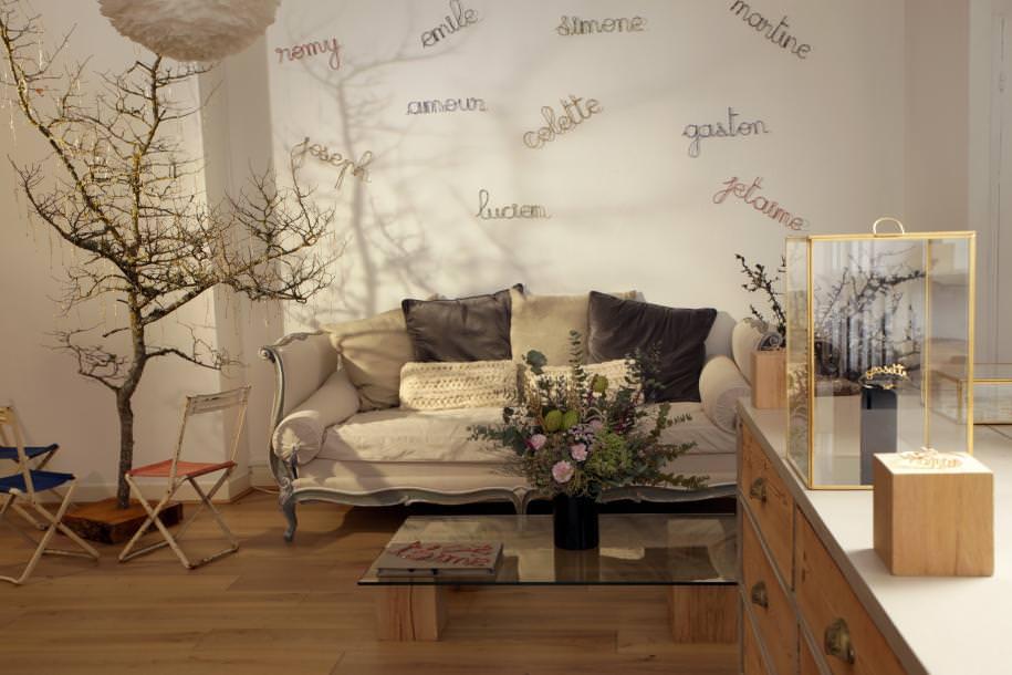 Le showroom Atelier Paulin, situé rue Saint-Denis.