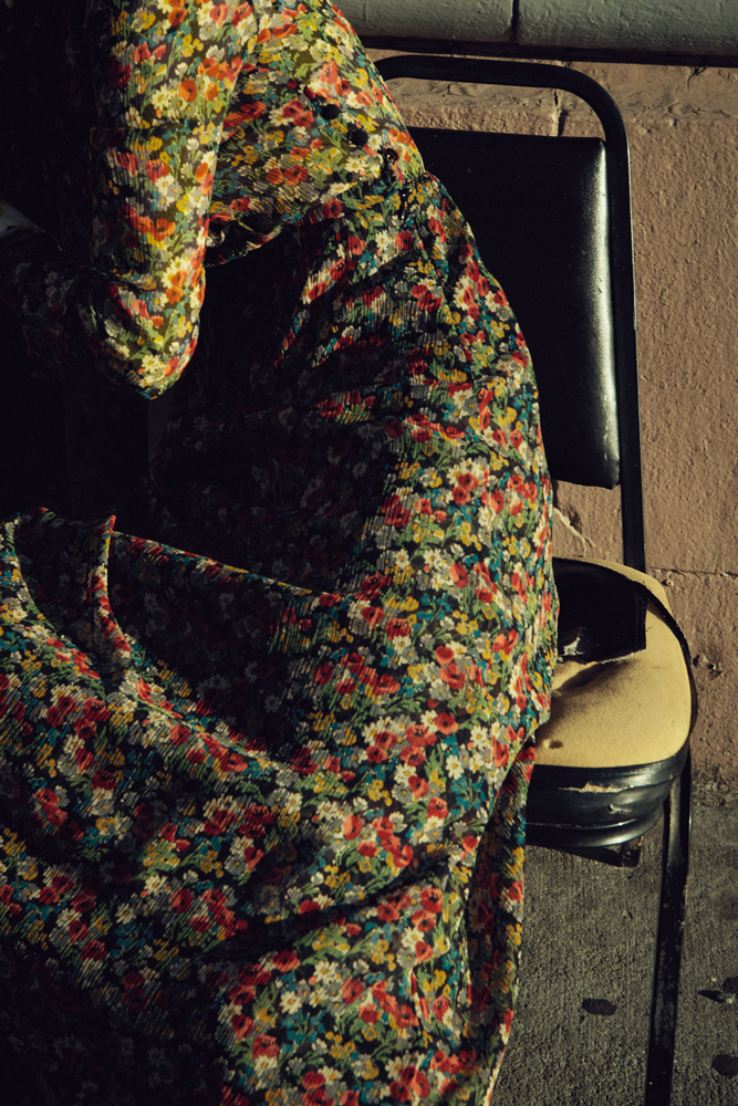 Robe en mousseline de soie imprimée, RED VALENTINO.