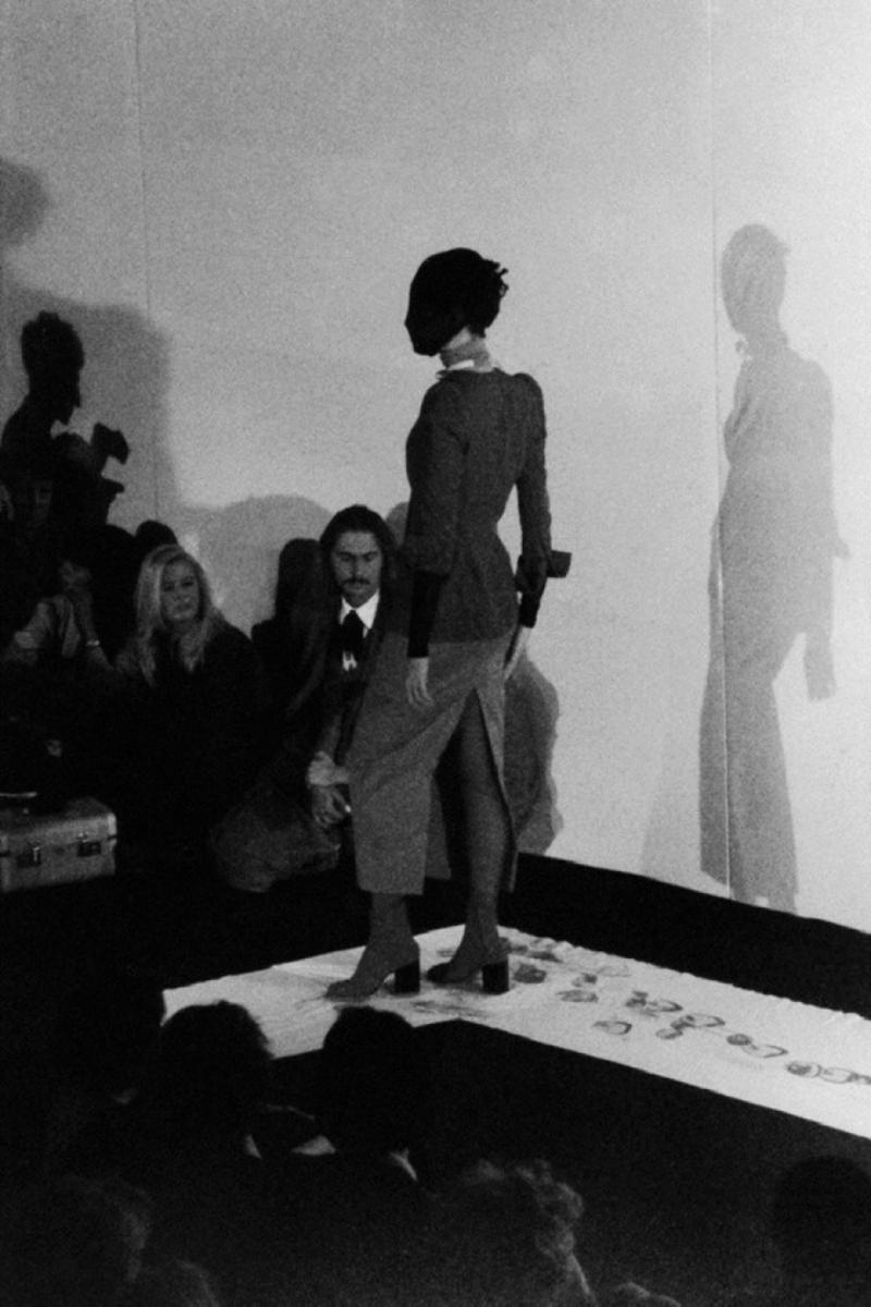 Image d'archives de la collection printemps-été 1989 de Maison Martin Margiela. Photo Raf Coolen