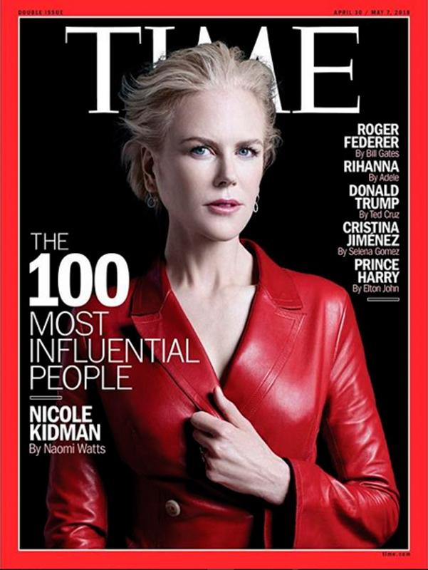 Nicole Kidman en une du Times, mai 2018