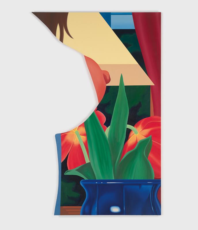 """Bedroom Painting #67"" (1983). Huile sur toile, 239,4 x 152,4 cm"
