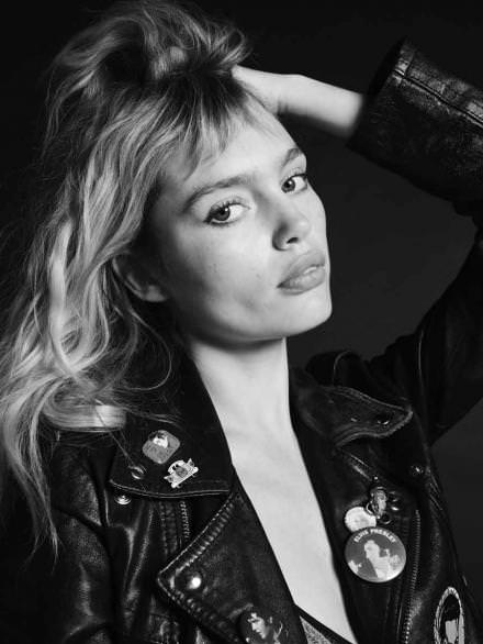 Staz Lindes, Hedi Slimane's latest inspiration and the new muse of Saint Laurent Paris