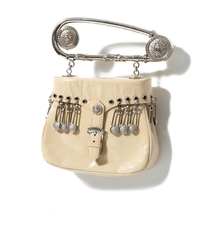 VERSACE, SAFETY PIN BAG : 1994