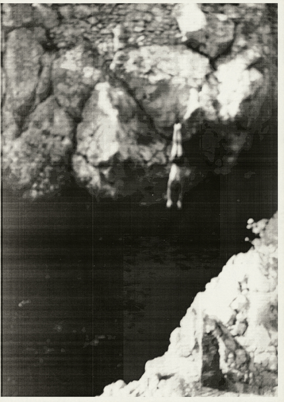 """Springer"", Wolfgang Tillmans, 1987, CourtesyGalerie Chantal Crousel, Paris - Galerie Buchholz, Berlin-Cologne"