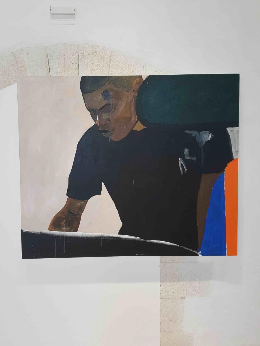 Haitan Working (Washing My Window) Not Begging (2015) de Henry Tailor. Photo Numéro.