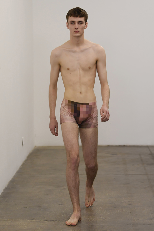 Xander Zhou, collection automne-hiver 2020-2021. Photo :Giovanni Giannoni
