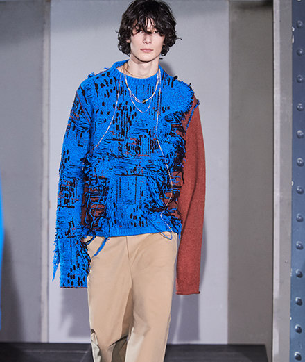 Acne Studios men fall-winter 2018-2019 fashion show