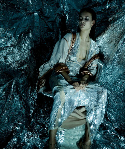 "Exclusive : ""Interstellar"" a fashion story by Sølve Sundsbø"