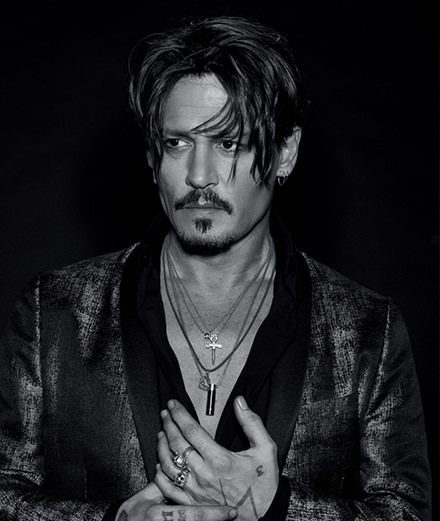 """The studios sell a product and I became their product."" Exclusive interview with Johnny Depp for Numéro Homme"