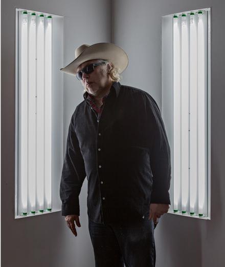Dans l'atelier de Blair Thurman : quel artiste se cache sous le chapeau de cow-boy ?
