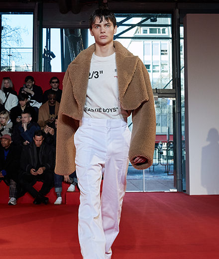 Off-White men fall-winter 2018-2019 fashion show