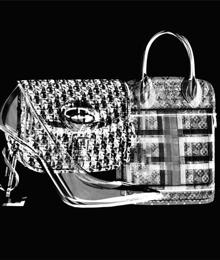 Les accessoires monogrammés Louis Vuitton, Christian Dior et Saint Laurent Paris