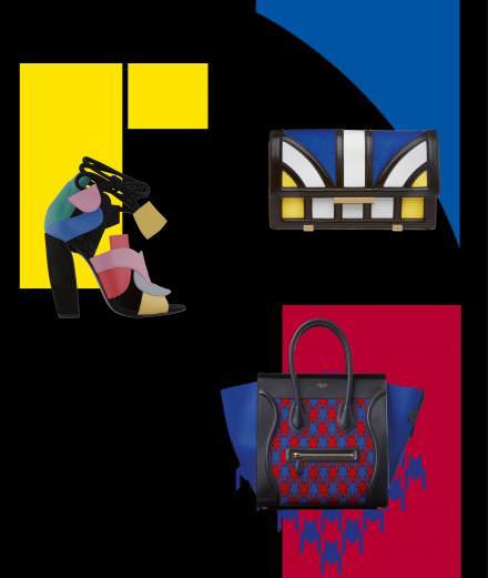 Les accessoires colorblock réveillent l'été