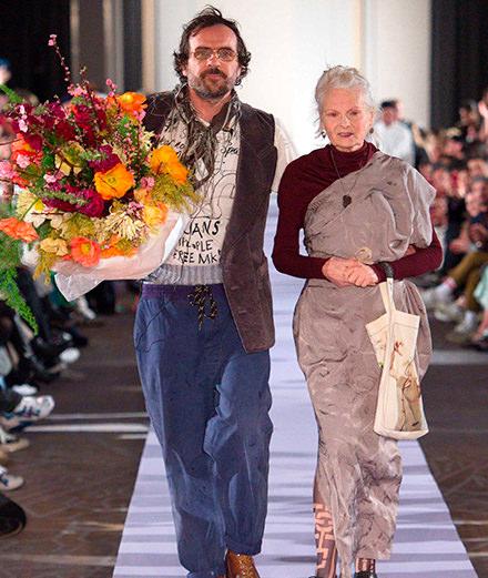 Comment Andreas Kronthaler électrise l'héritage de Vivienne Westwood