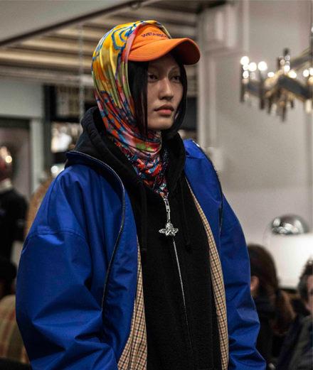 Vetements fall-winter 2018-2019 fashion show seen by Mehdi Mendas