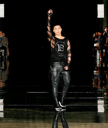 Balmain organise son premier show-concert pour sa collection homme printemps-été 2020