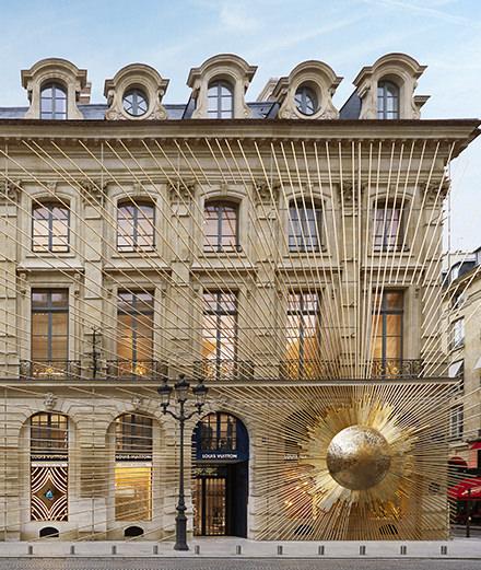 À quoi ressemble la Maison Vuitton place Vendôme?