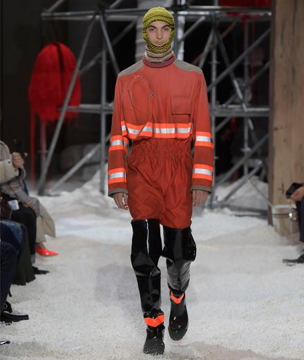 Calvin Klein fall-winter 2018-2019 fashion show