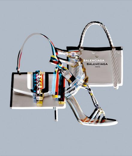 Gucci, Sergio Rossi et Balenciaga : les accessoires d'inspiration croisière