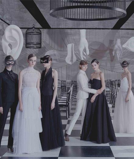 Le défilé couture Dior printemps-été 2018