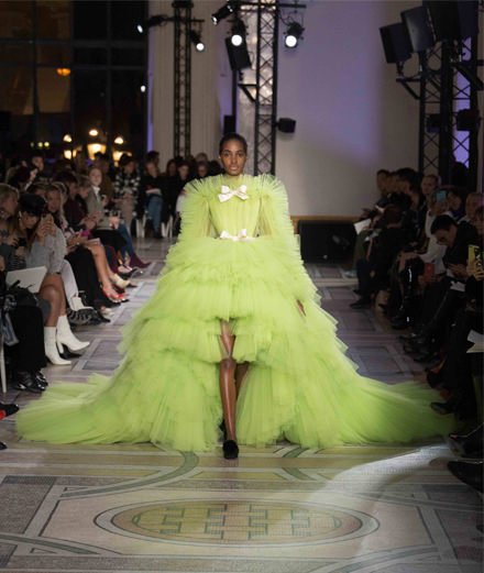 Giambattista Valli couture spring-summer 2018 fashion show