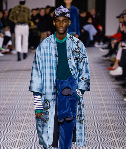 Haider Ackermann men fall-winter 2018-2019 fashion show