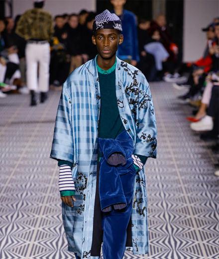 Haider Ackermann men fall-winter 2018-2019 fashion show