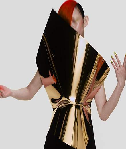 Nick Knight met en vidéo la collection Gareth Pugh printemps-été 2018