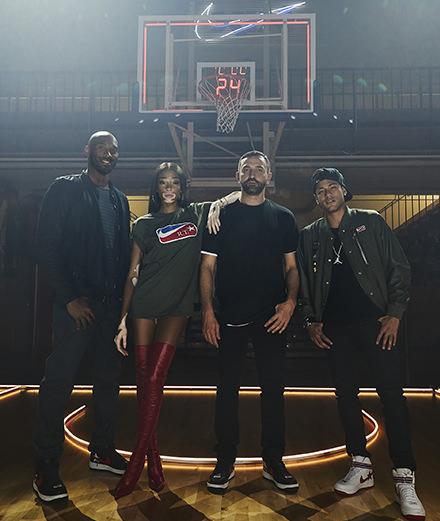 Nike et Riccardo Tisci célèbrent leur collaboration avec Neymar Jr et Kobe Bryant