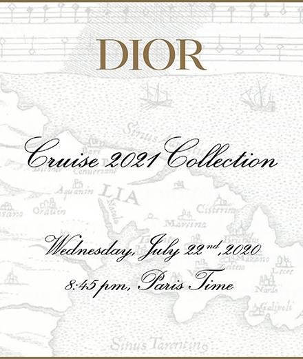 En direct : le défilé Dior croisière 2021