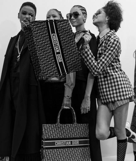 Backstage : le défilé Dior automne-hiver 2020-2021 par Mehdi Mendas