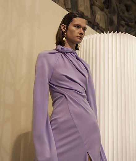 Backstage : le défilé Ellery haute couture printemps-été 2018 vu par Mehdi Mendas