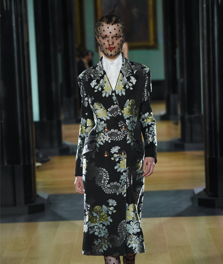 Erdem fall-winter 2018-2019 fashion show